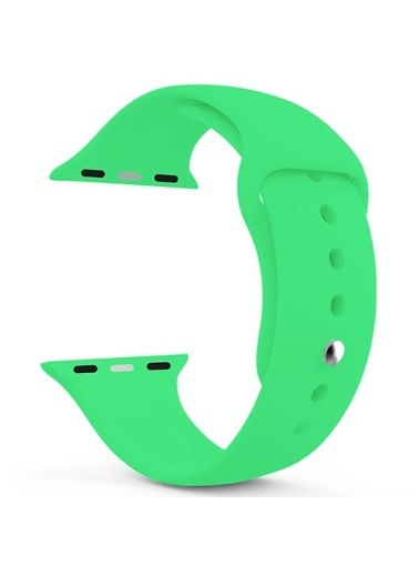 Microsonic Apple Watch SE 40mm Silikon Kordon Yeşil